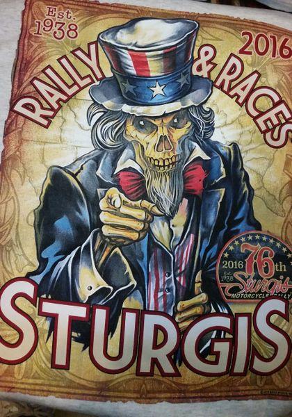 2016 Sturgis T shirt HL16009L