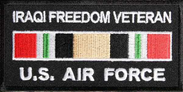 Patch - Iraqi Freedom Vet Air Force