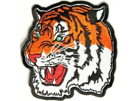 Patch - Tiger head