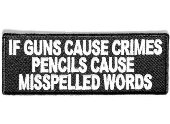 Patch - If guns cause crimes