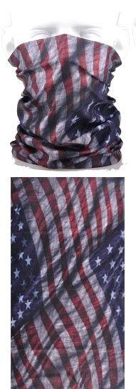 Tube mask - old USA flag