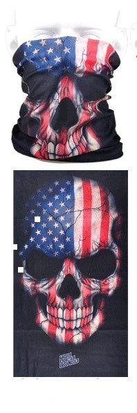 Tube mask - USA skull