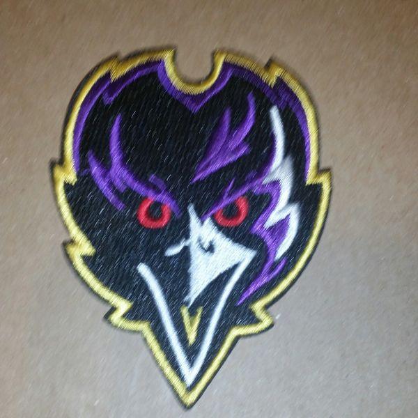 Patch - NFL Ravens- face forward