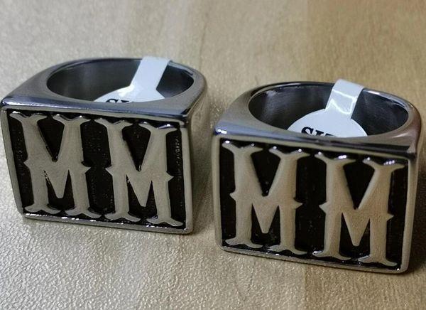 Ring - MM initials