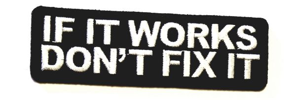 Patch - If it works