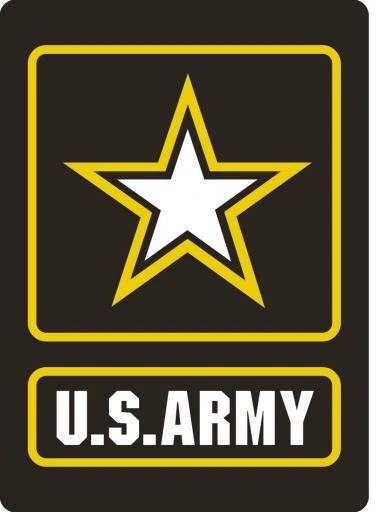 Helmet sticker - US Army large