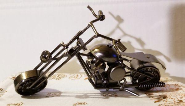 Metal motorcycle M007
