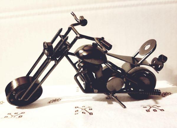 Metal motorcycle M010