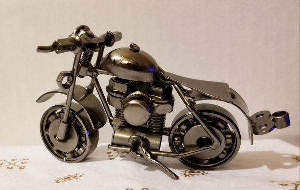 Metal motorcycle M006