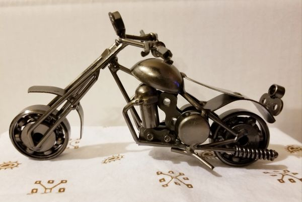 Metal motorcycle M004