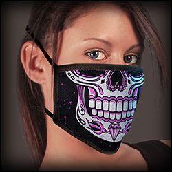 Face Mask -Covid - 19 Sugar skull