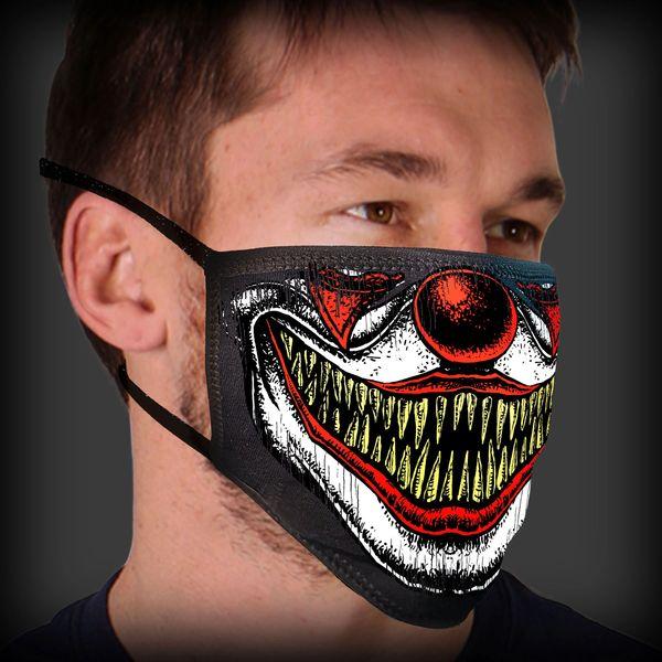 Face Mask -Covid - 19 Clown face