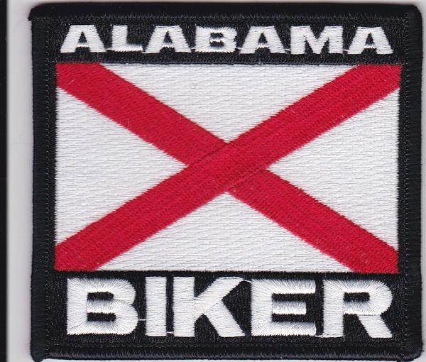 Patch - Alabama biker flag