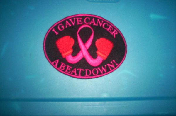 Patch - Breast Cancer boxing dark Pink