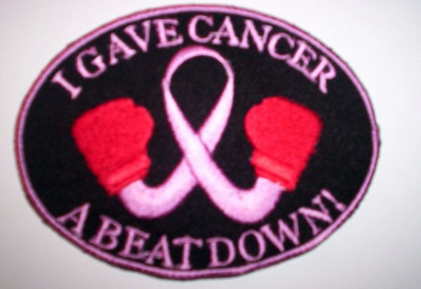 Patch - Breast Cancer boxing (light Pink)