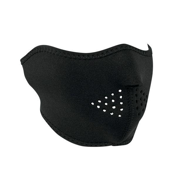 Neoprene half face mask - All black Oversize