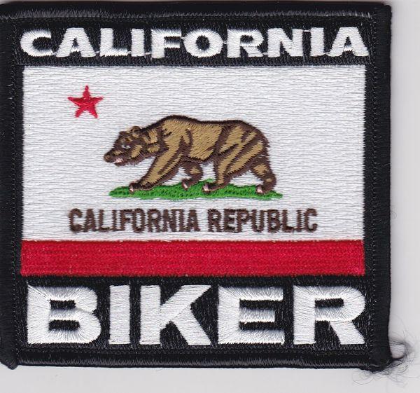 Patch - California biker flag