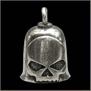 Gremlin Bell - Half Skull