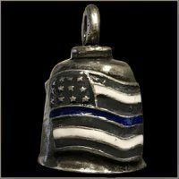 Gremlin Bell - Blue Line American Flag