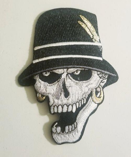 Patch - Skull with Hat