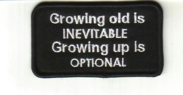 Patch - Growing old is Inevitable