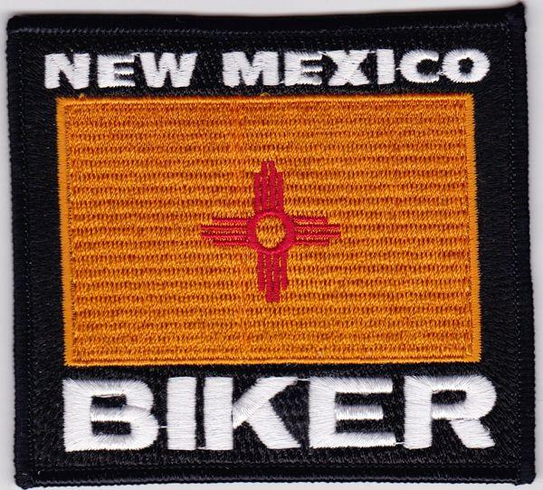 Patch - New Mexico biker flag