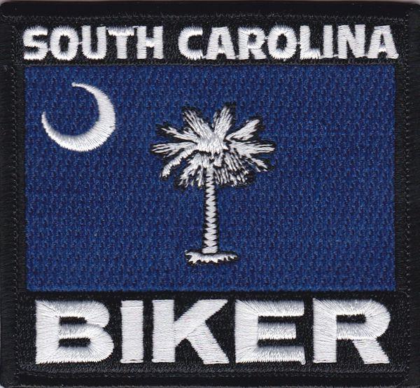 Patch - South Carolina flag