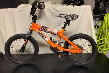 "This little ""hot wheels"" bike was donated and went to a very happy little TYKE."
