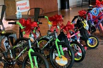 We hope to have you present at the next TYKES.NEED,BIKES event!