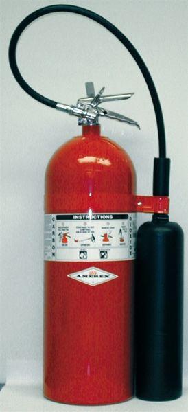 AMEREX 332 CARBON DIOXIDE STORED PRESSURE EXTINGUISHER - 20 LB