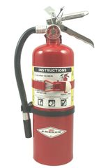 AMEREX B402T ABC MULTI-PURPOSE DRY CHEMICAL EXTINGUISHER WITH VEHICLE BRACKET- 5 LB