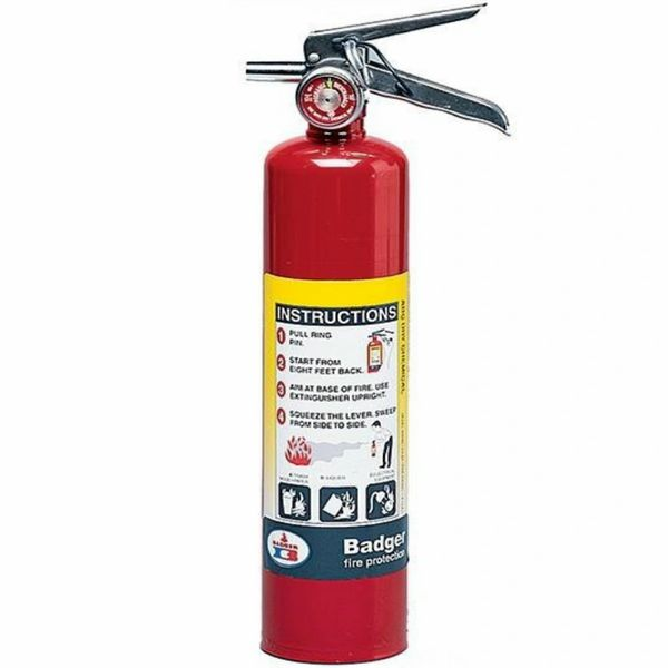 BADGER 21007865 ABC 2.5lb. DRY CHEMICAL FIRE EXTINGUISHER - 2 1/2 LB
