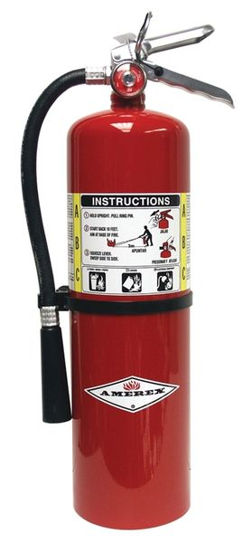 AMEREX B456 ABC MULTI-PURPOSE DRY CHEMICAL EXTINGUISHER - 10 LB