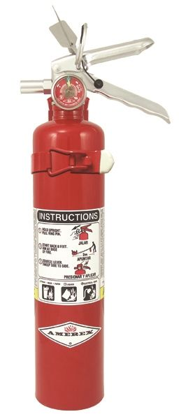 AMEREX B417T ABC MULTI-PURPOSE DRY CHEMICAL EXTINGUISHER WITH VEHICLE BRACKET- 2 1/2