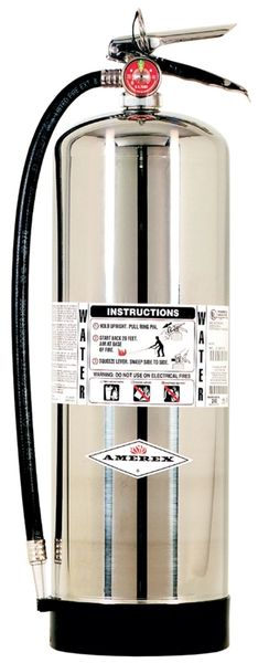 AMEREX 240 WATER STORED PRESSURE EXTINGUISHER - 2.5 GALLONS
