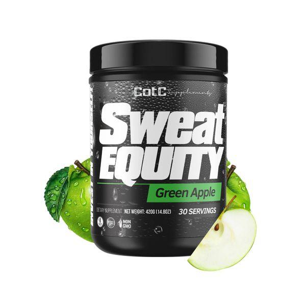 Sweat Equity Premium Pre Workout Supplement | Green Apple ...