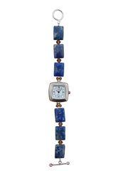 Lapis & Swarovski Crystal Watch