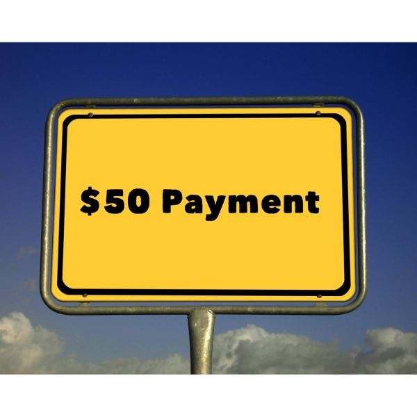 $50.00 Payment