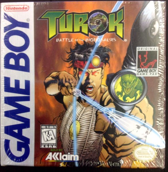 Turok: Battle of Bionosaurs (Gameboy) SEALED