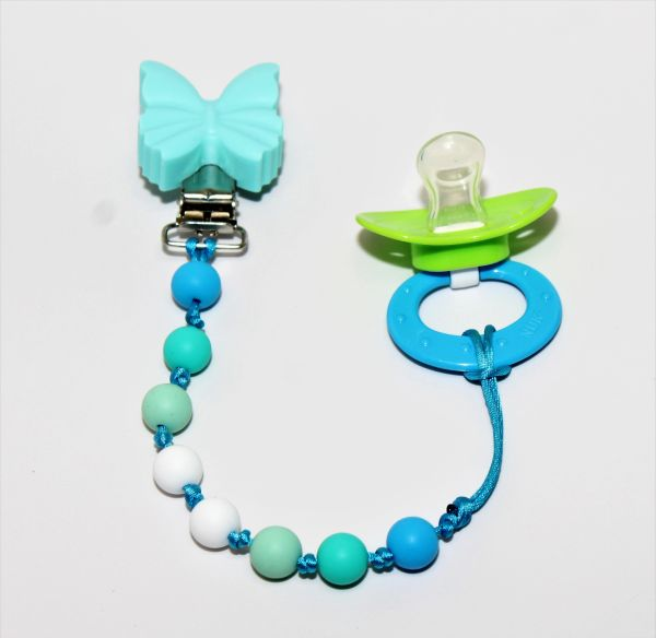 butterfly paci clip