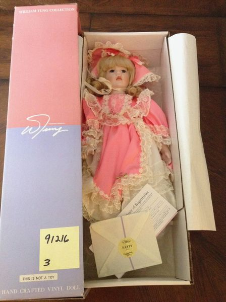 William Tung Collection- Hand Crafted Vinyl Doll