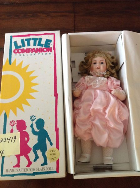 Little Companion Collection- HandCrafted Porcelain Doll