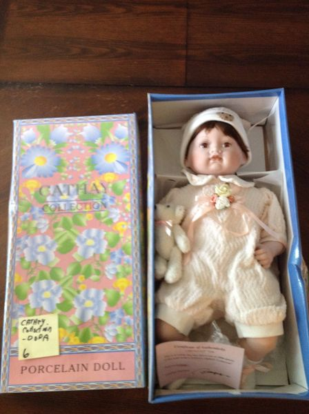 Cathey Collection Porcelain Doll