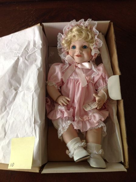 SOLD Special Moments Porcelain Doll