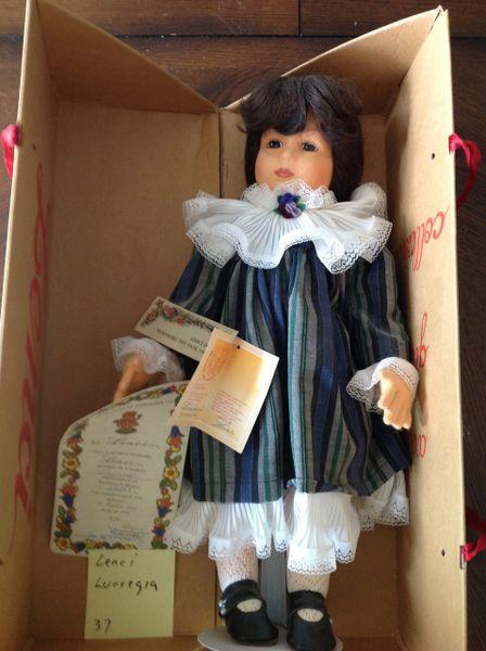 Lenci for Nurnberg Toy Fair Porcelain Doll