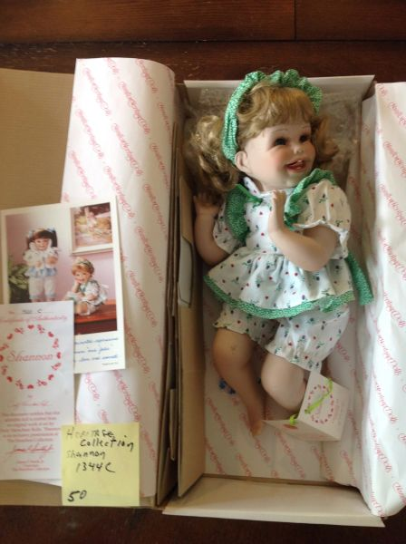 Heritage Collection Porcelain Doll