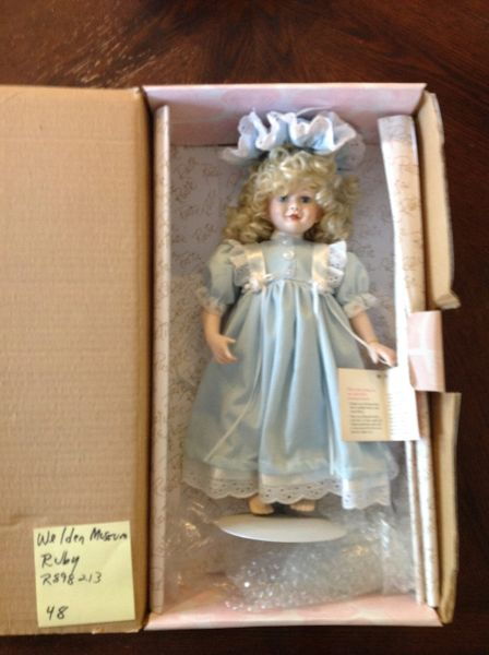 Weldon Museum of Fine Collectibles Porcelain Doll