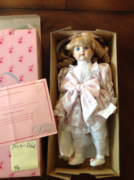Design Depot Porcelain Doll Stephanie