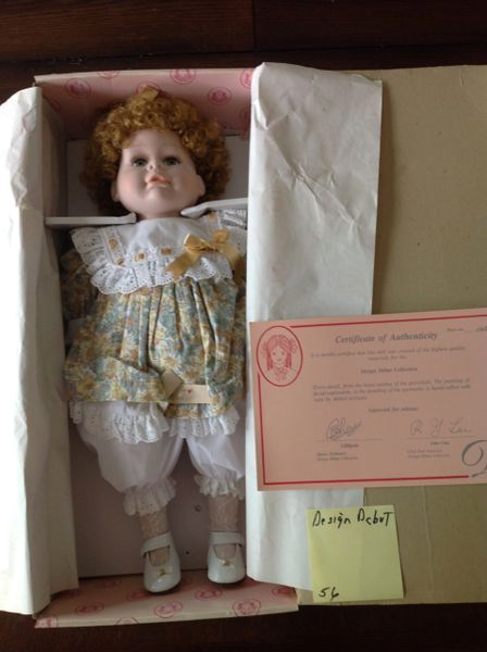 """Design Depot Hand Crafted Doll 20"""" Tall"""
