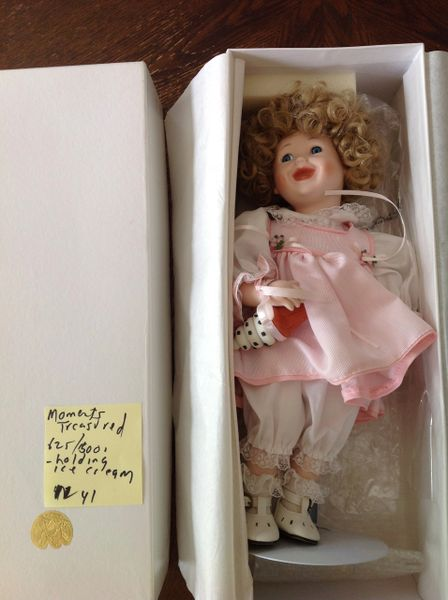 Moments Treasured HandCraft Porcelain Doll
